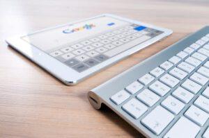 Hogerop in Google